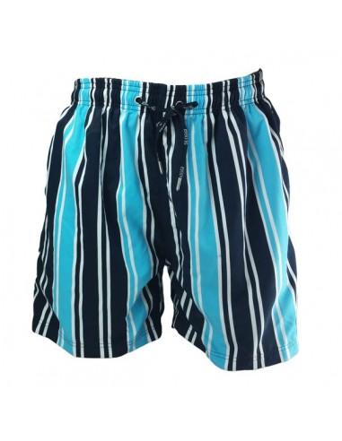 Sloggi Men Swim blue stripe