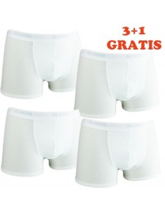 Sloggi Men Basic Short wit 4Pack, 3+1 gratis
