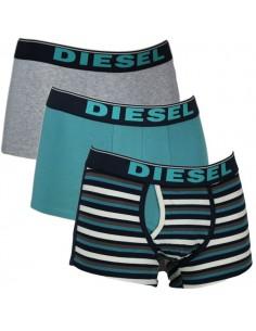 Diesel Semaji 3Pack Boxershort Petrol Grey Stripe