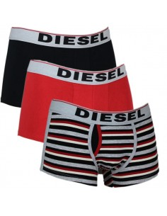 Diesel Semaji 3Pack Boxershort Red Grey Black