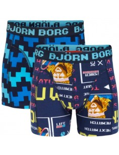 Bjorn Borg 2 Pack Arcade high score borg Kinder Boxershorts