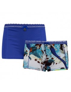 ChicaMala Short Ocean 2Pack