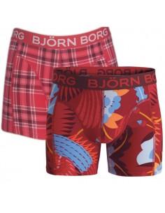 Bjorn Borg 2 Pack Jongens boxershorts Dragon bird chili pepper