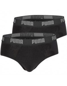 Puma Heren slips Basic black 2Pack