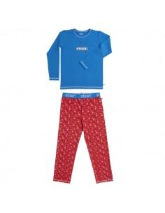 Lief! Pyjama Star Kobalt Aanbieding! Jongens ondergoed