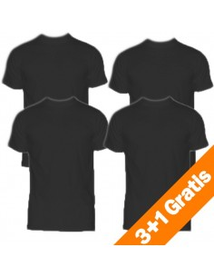 HOM Harro New T-Shirt 4 pack black