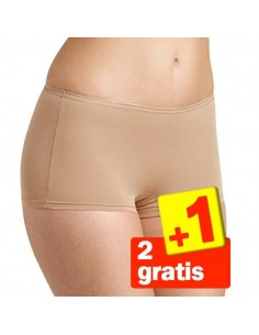 Sloggi Feel Sensational Short 02 Huid 3Pack 2+1 Gratis