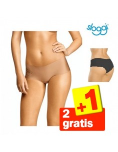 Sloggi Light Hipster Huid 3Pack 2+1 Gratis