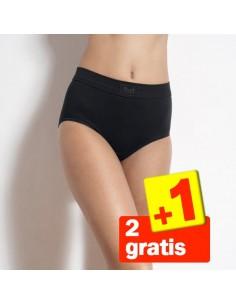 Sloggi Double Comfort Maxi Zwart 3Pack 2+1 Gratis