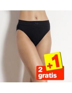 Sloggi Double Comfort Tai Zwart 3Pack 2+1 Gratis