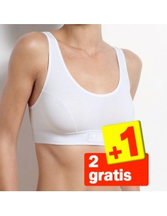 Sloggi Double Comfort Top Wit 3Pack 2+1 Gratis