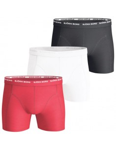 Björn Borg Shorts 3Pack 3 To Go true red Boxershorts