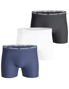 Björn Borg Shorts 3Pack 3 To Go Blue Depths Boxershorts