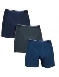 Björn Borg Shorts 3Pack 3 To Go Mood Indigo Boxershorts