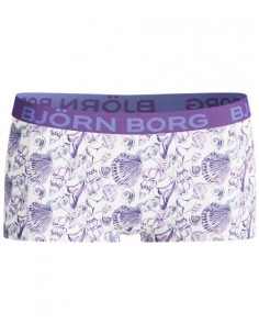 Bjorn Borg Dames mini Short Shell purple