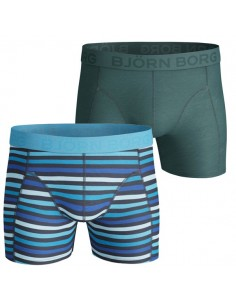 Björn Borg Shorts 2Pack submerge blue Grotto