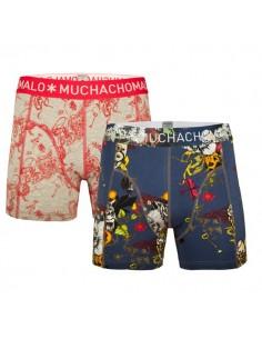 MuchachoMalo Wizz Print 2Pack Kinder Ondergoed