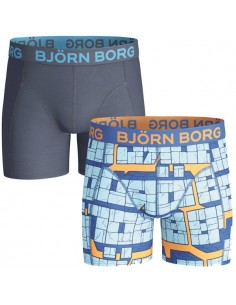 Bjorn Borg jongens ondergoed 2 Pack blinx blue