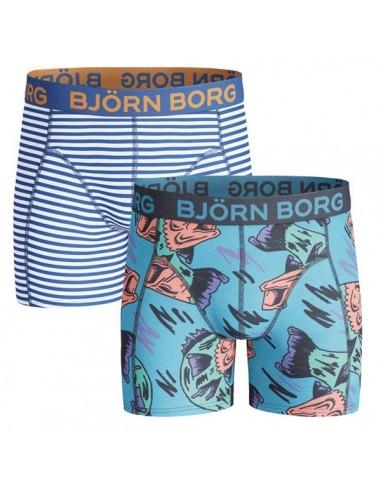 Bjorn Borg jongens ondergoed 2 Pack Strong Blue
