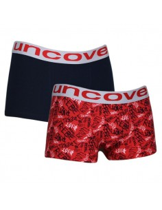 Uncover Trunk Short 2Pack Red riot
