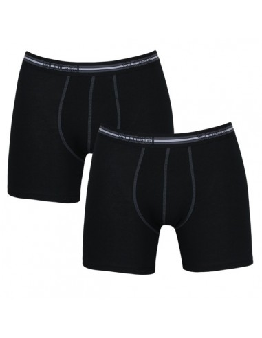 Sloggi Men Match Short zwart 2Pack