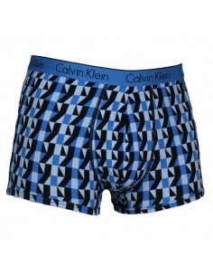 Calvin Klein Ondergoed Trunk Shorty Blue blocks