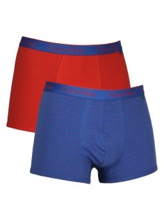 Calvin Klein Ondergoed Trunk Shorty Blue red 2 pack