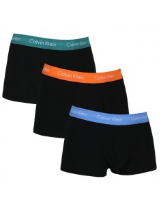 Calvin Klein Ondergoed Color Band Orange Green Blue 3Pack low rise trunk