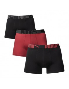 Puma Boxershorts Cat Black Red 3Pack