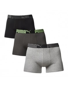 Puma Boxershorts Cat Black Grey 3Pack