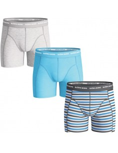 Bjorn Borg 3Pack Boys Basic Phantom Boxershorts