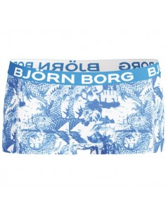 Bjorn Borg Dames Mini Short Hidde Brilliant Blue