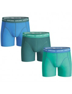 Björn Borg Boxershorts 3Pack Seasonal Solid Brilliant Green