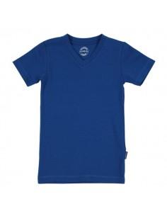 Claesen's Jongens V-Shirt Blauw