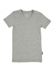 Claesen's Jongens V-Shirt Grey Melee