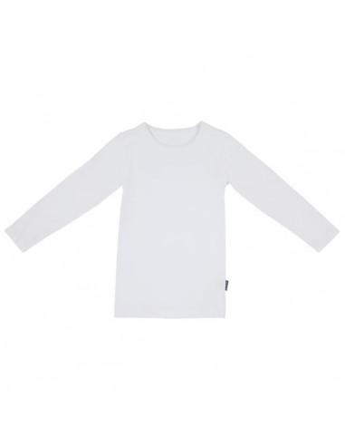 Claesen's Jongens T-Shirt Longsleeve White