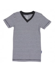 Claesen's Jongens V-Shirt Stripes