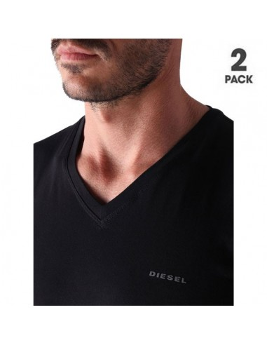Diesel Michael UMTEE 2Pack T-Shirt Black