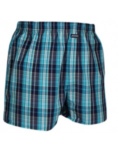 Jockey Boxershort Klassiek Woven Evening Blue