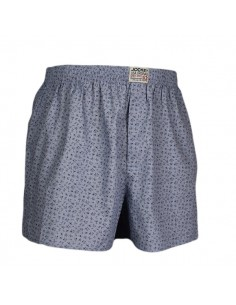 Jockey Boxershort Klassiek Woven Grey Flower
