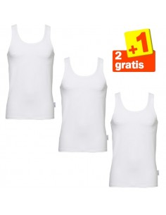 Sloggi basic Hemd White 2 + 1 gratis 3 pack