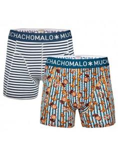 MuchachoMalo Boat 2Pack Heren Boxershorts