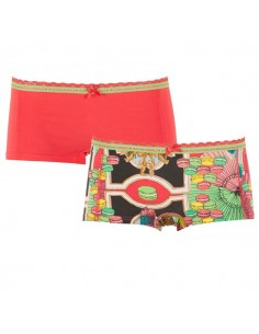 MuchachoMalo Marie Short 2Pack Dames Ondergoed