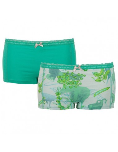 MuchachoMalo Wild Short 2Pack Dames Ondergoed