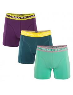 MuchachoMalo Solid 124 3Pack Jongens Boxershorts