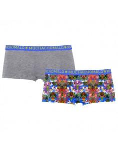 MuchachoMalo Jungle Short 2Pack Dames Ondergoed