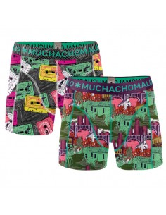 MuchachoMalo Band Print 2Pack Kinder Ondergoed