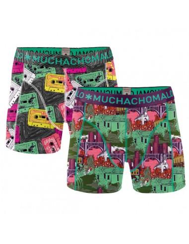 MuchachoMalo Band Print 2Pack Kinder Ondergoed