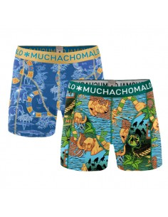 MuchachoMalo Safari Print 2Pack Kinder Ondergoed