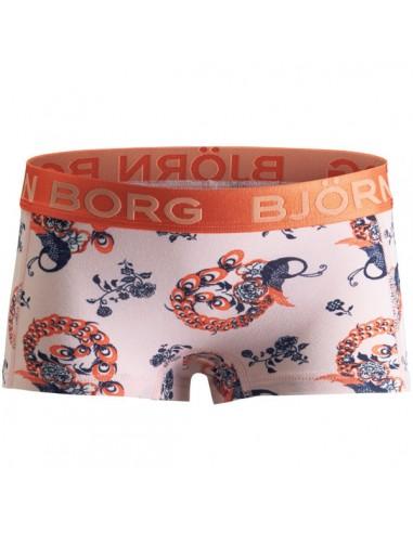 Bjorn Borg Peacock Cradle Pink Mini Short Meisjes ondergoed